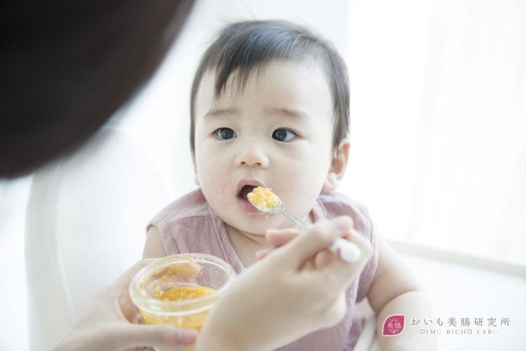 便秘がちな赤ちゃんにおすすめ!さつまいもの離乳食中期レシピ3選