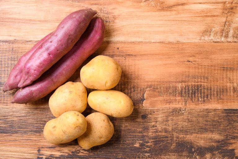 【さつまいもVSジャガイモ】栄養価が高いのは?ダイエットに向いているのはどっち!?