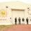 """""""AGRI PROJECT""""第三弾、米米CLUB 石井竜 也さんのアート作品を保管するテント倉庫の外観披露と、田んぼアート制作にあたり米米CLUBメンバ ーのBONさん、MINAKOさん、MARIさんによる田植えを実施。"""